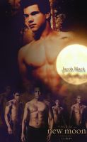 New Moon Poster Jacob Black by Green-love