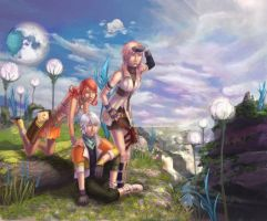 Final Fantasy XIII by blood-and-death