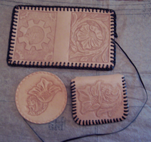 Leather Stamping by TheClockworkCoyote
