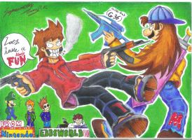 EDDSWORLDS: He's back. Part 2 by Jjinwu