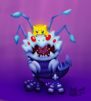 Koggy and The Little SpiderTick by lurils