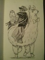 Day 2 - A Gunslinging Outlaw by SubDJ