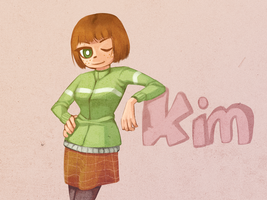 fanart - kim pine by daughter-thursday