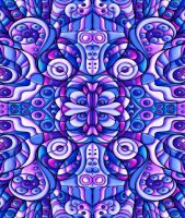 Psychedelic Patchwork by KirstenStar