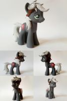 Silver Dare OC G4 Custom Pony by Oak23