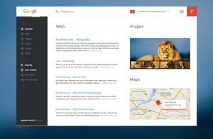 Google redesign by 6mik-design