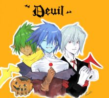 Deuil: Trick or Treat by HokutoFighter