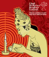 Ubud Writer Poster Competition by prie610