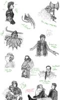 HTTYD Sketch Dump by kate-7htc