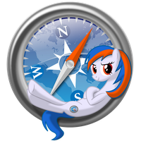 safaripony (safari icon) by EDplus