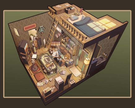 My  room by yuzoon