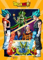 Poster Dragon Ball Super by albertocubatas