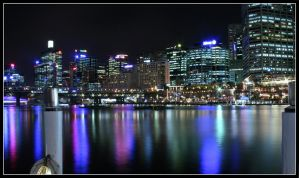 Darling Harbour - Nighttiming by The-8th-Sin