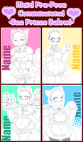 Maid Pre-Pose Commissions OPEN! by LovelessKia