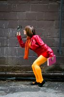 Trying to solve a mystery - Velma from Scooby Doo by MandaCowled