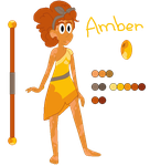 Gem OC : Amber by zafara1222