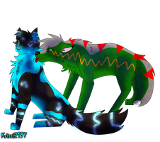 Commission - Tora and Rachael by Krissi2197