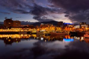 Hobart Dock by Kyofuu