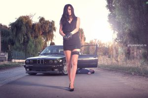 Roxana and e30 by MWPHOTO