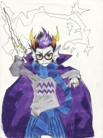 wip Eridan by despreocupabloart