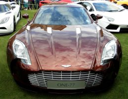 Aston Martin One-77 by Sheppard56