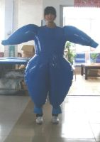 inflatable duplex suit to have by puncturegown