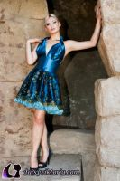 Blue Dress Fall 2011 by DaisyViktoria
