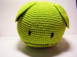 Gundam series: green Haro doll by Nissie