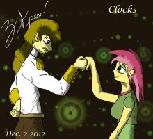 Clocks - Human Version - Commission for techno103 by ZephyrFlash