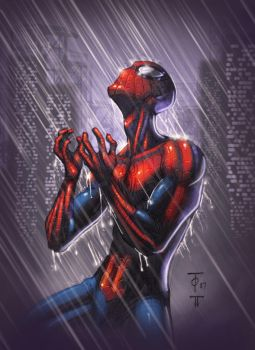Spidy by Marcus To by juan7fernandez