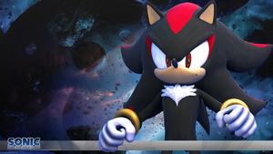 Sonic the Hedgehog Wallpaper - Shadow the Hedgehog by itsHelias94