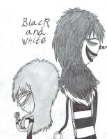 Black and White (LJ X Me) by sonichannah