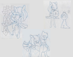 Lost Kirlia sketches