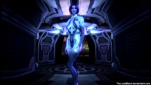 Halo 4 - Cortana wallpaper by The-JoeBlack