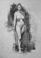 Figure Drawing 1 by Mellifluence