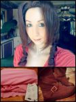 Aerith Gainsborough WIP by SorrowTurquoise