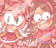 give us a SMILE! :) by chibiirose