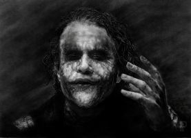 The Joker by enigmatic-freak