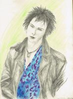 Sid Vicious sketch by Re-Alise
