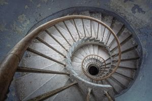 abbey stairs by schnotte