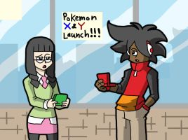waiting on launch day by ObsidianWolf7