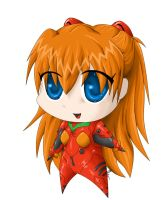 Asuka Langley Soryu by Digital-Twilight