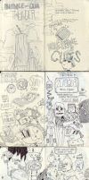 Sketchbook, page 1 to 18 by Zedig
