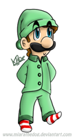 .:chibi luigi..:. by Miapon