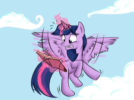 How to Fly  by RavingFoxie
