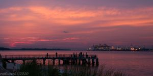 Sunset at Punggol Jetty by nutcase23