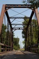 Oklahoma Stock - Old Bridge 05 by FairieGoodMother