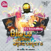 CD cover for Dj SoundBoy by BraveDesign