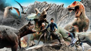 Dinosaur Hunters From Outer Space by damir-g-martin