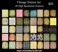 Vintage texture set 6 by chupla